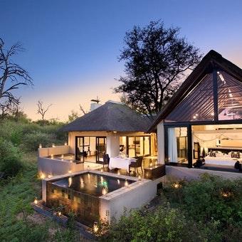 Lion Sands Ivory Lodge Villa Suite