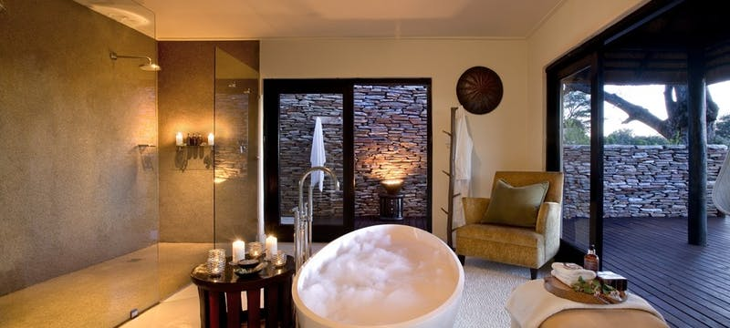 Superior Luxury Bathroom at Lion Sands River Lodge, South Africa