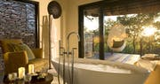Superior Luxury Suite Bathroom at Lion Sands River Lodge, South Africa