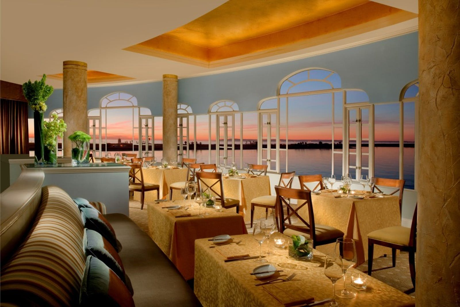 Dining Area at Loews Coronado Bay Resort, San Diego