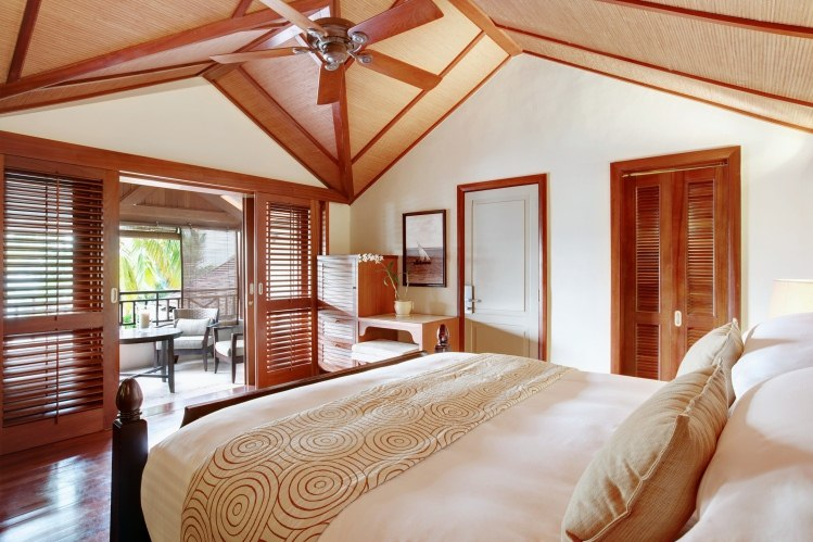 Bedroom at Lux Le Morne