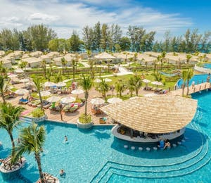 Hotel Overview Main Pool at Mai Khao Lak Beach Resort & Spa