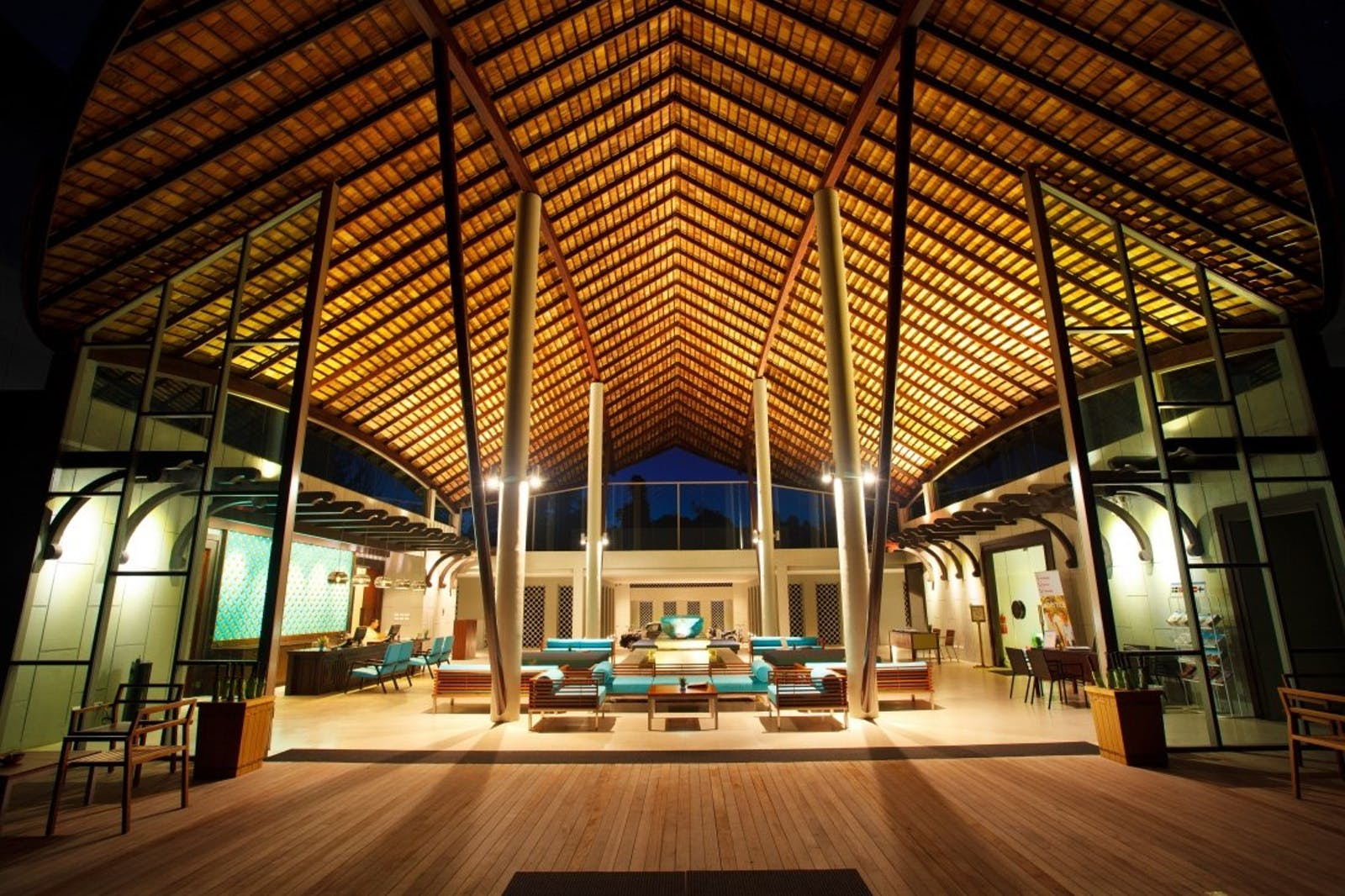 Hotel Lobby at Mai Khao Lak Beach Resort & Spa