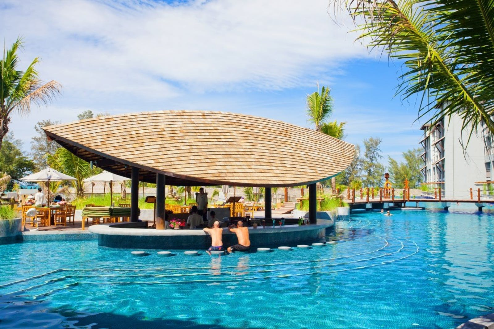 Pool Bar at Mai Khao Lak Beach Resort & Spa