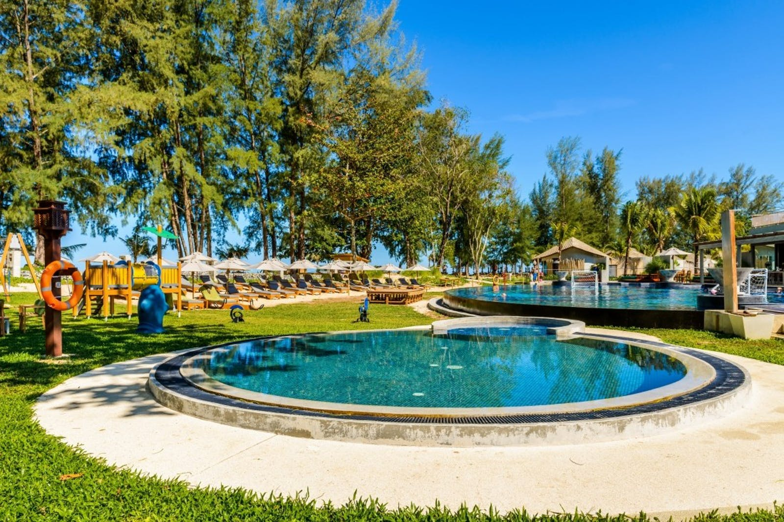 Playground and Kid's Pool at Mai Khao Lak Beach Resort & Spa