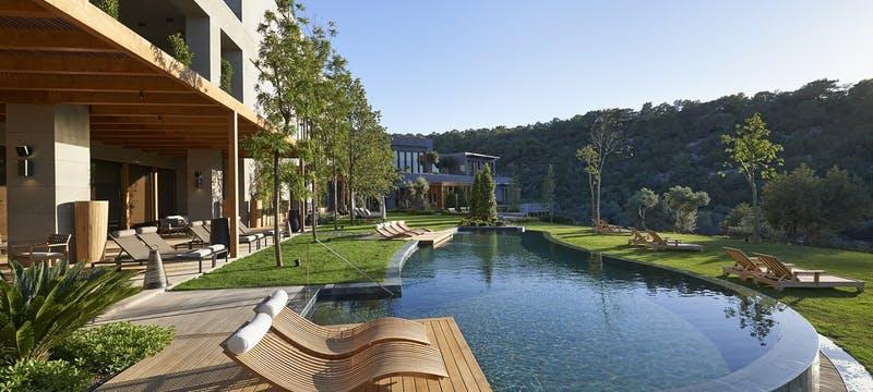 Luxury Spa Pavilion