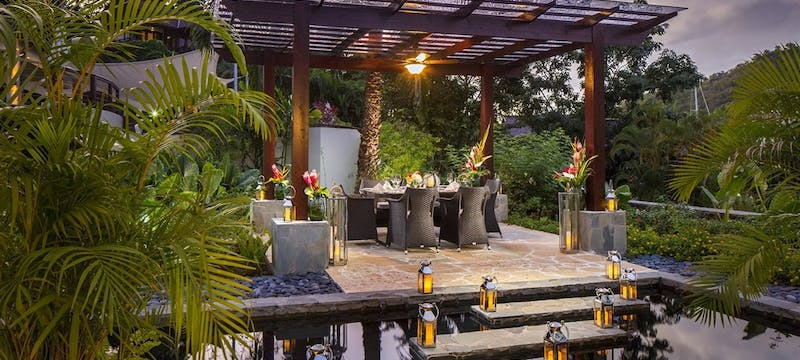 Private Dining Experience At Marigot Bay
