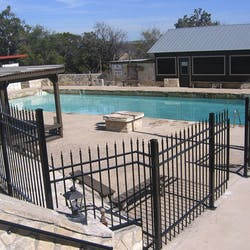 Swimming Pool at Mayan Dude Ranch, Texas