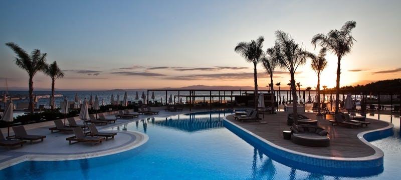 Main Pool - Sunset