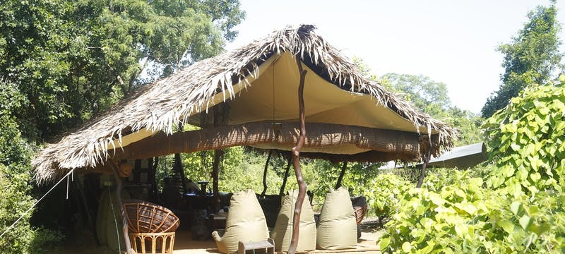 Lounge Tent Exterior