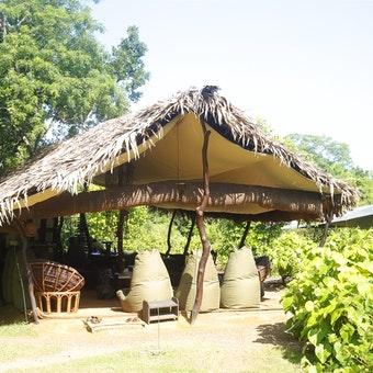 Lounge Tent Exterior