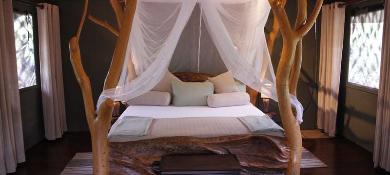 Luxury Lodge Tent - Interior