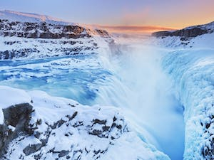 The Gullfoss Falls, Iceland