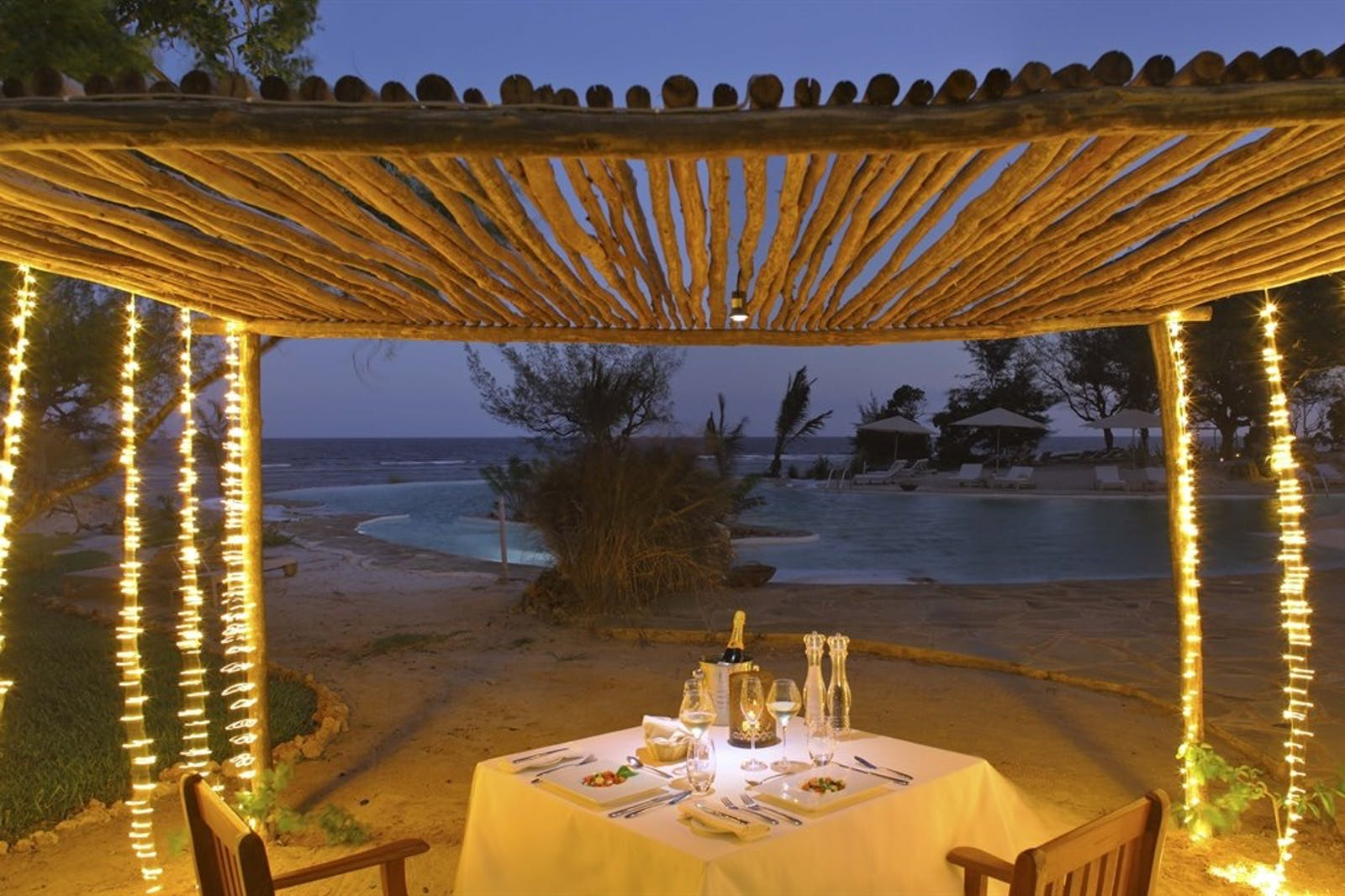 Private Dining at Ocean Spa Lodge