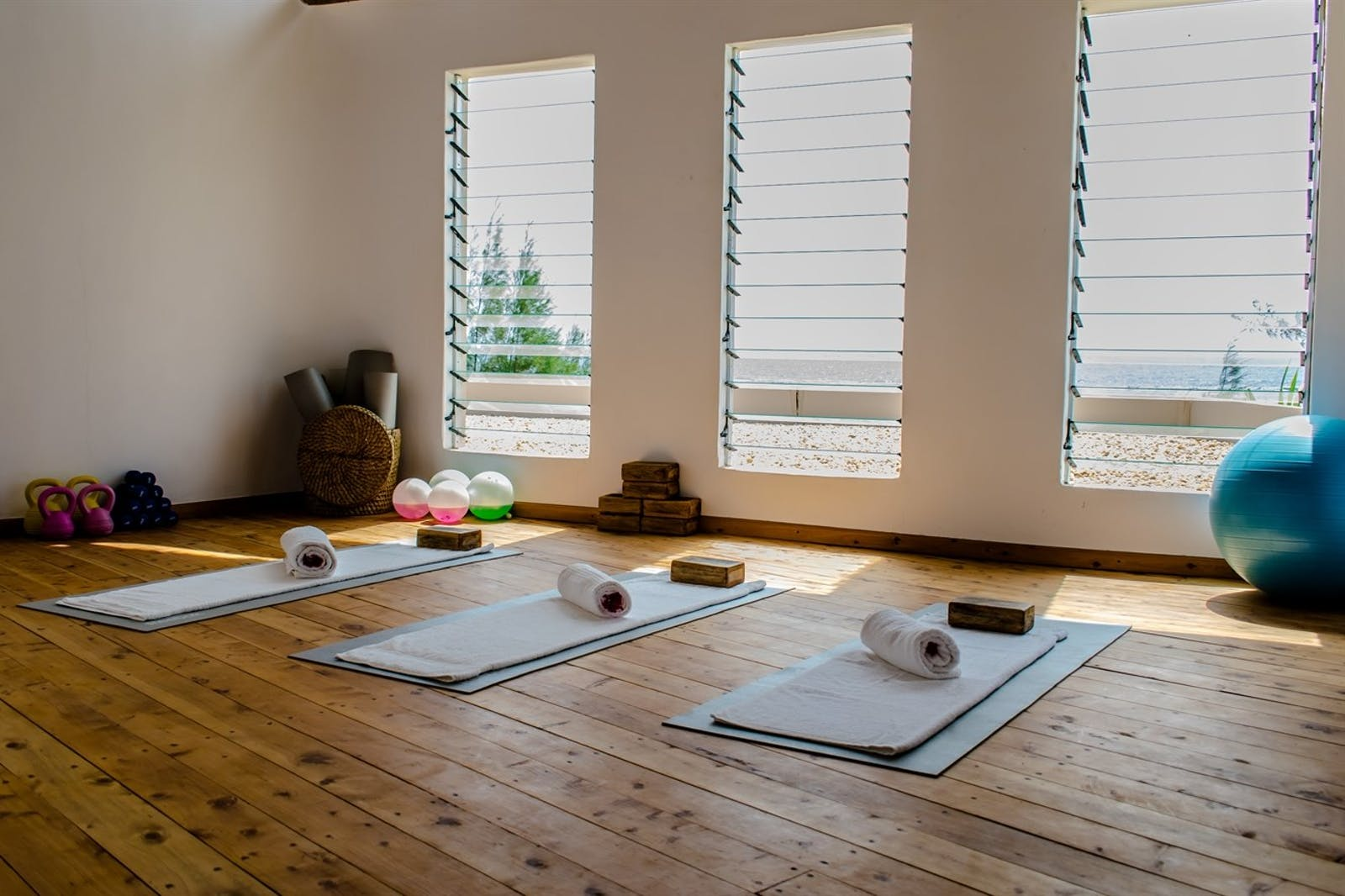 Yoga and Fitness Studio at Ocean Spa Lodge