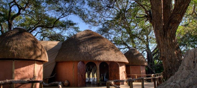Exterior of Okuti Camp