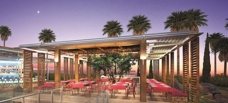 Olympic Lagoon Resort Paphos Taverna Restaurant