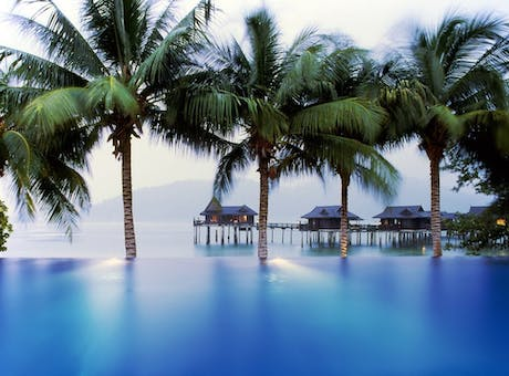 Royal Bay Beach Club Pool at Pangkor Laut Resort