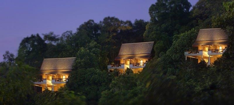 Hill Villa Exterior  at Pangkor Laut Resort
