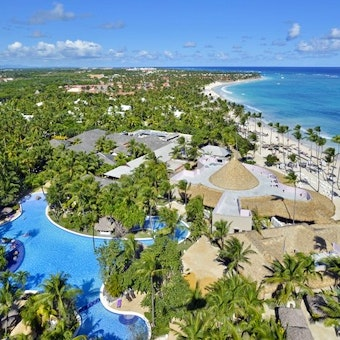 Aerial Views Of Paradisus Punta Cana