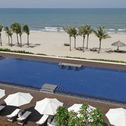 Beachfront Pool at Princess d'Annam Resort & Spa