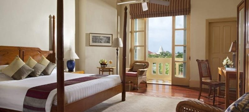 Landmark Room at Raffles Grand Hotel d'Angkor, Cambodia