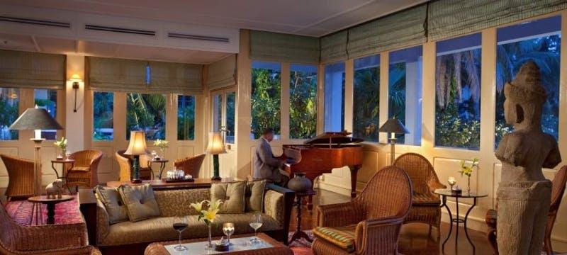 Conservatory at Raffles Grand Hotel d'Angkor, Cambodia