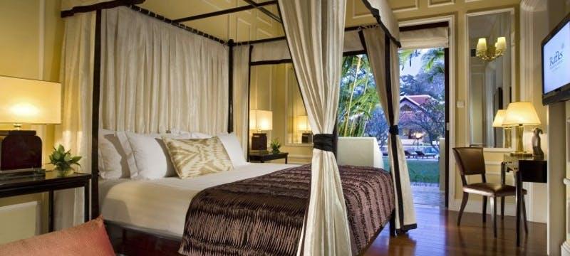 Cabana Suite at Raffles Grand Hotel d'Angkor, Cambodia
