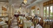 Cafe d'Angkor Restaurant at Raffles Grand Hotel d'Angkor, Cambodia