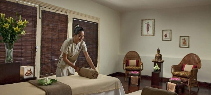 Spa Treatment Room at Raffles Grand Hotel d'Angkor, Cambodia