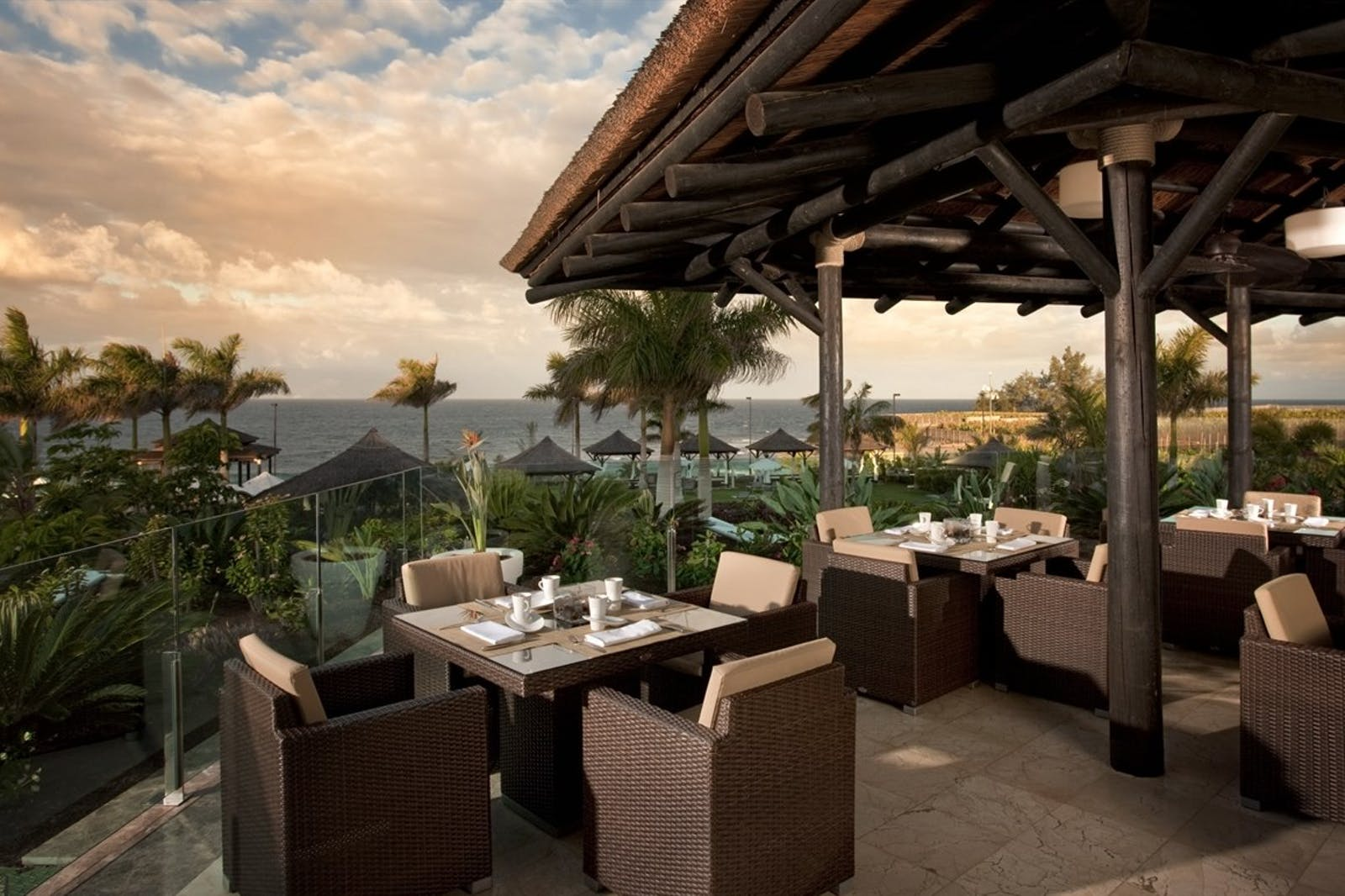 Terrace Restaurant at RedLevel at Gran Melia Palacio de Isora, Tenerife