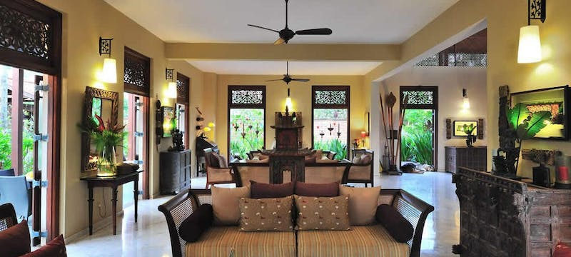 Lounge in Main House