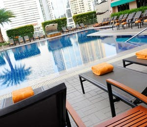 Swimming Pool at Rembrandt Hotel Bangkok