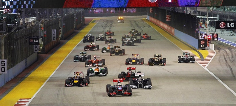 Formula 1 Singapore Grand Prix packages available. Photo: Singapore GP Pte Ltd