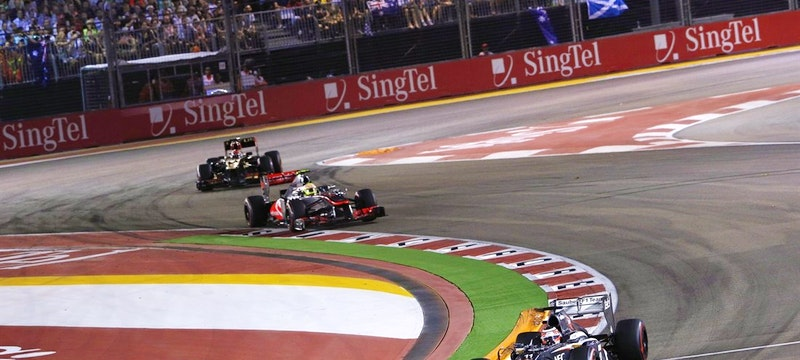 Formula 1 Singapore Grand Prix. Photo: Singapore GP Pte Ltd