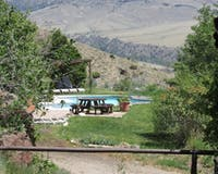 Swimming Pool at Rimrock Ranch, Wyoming
