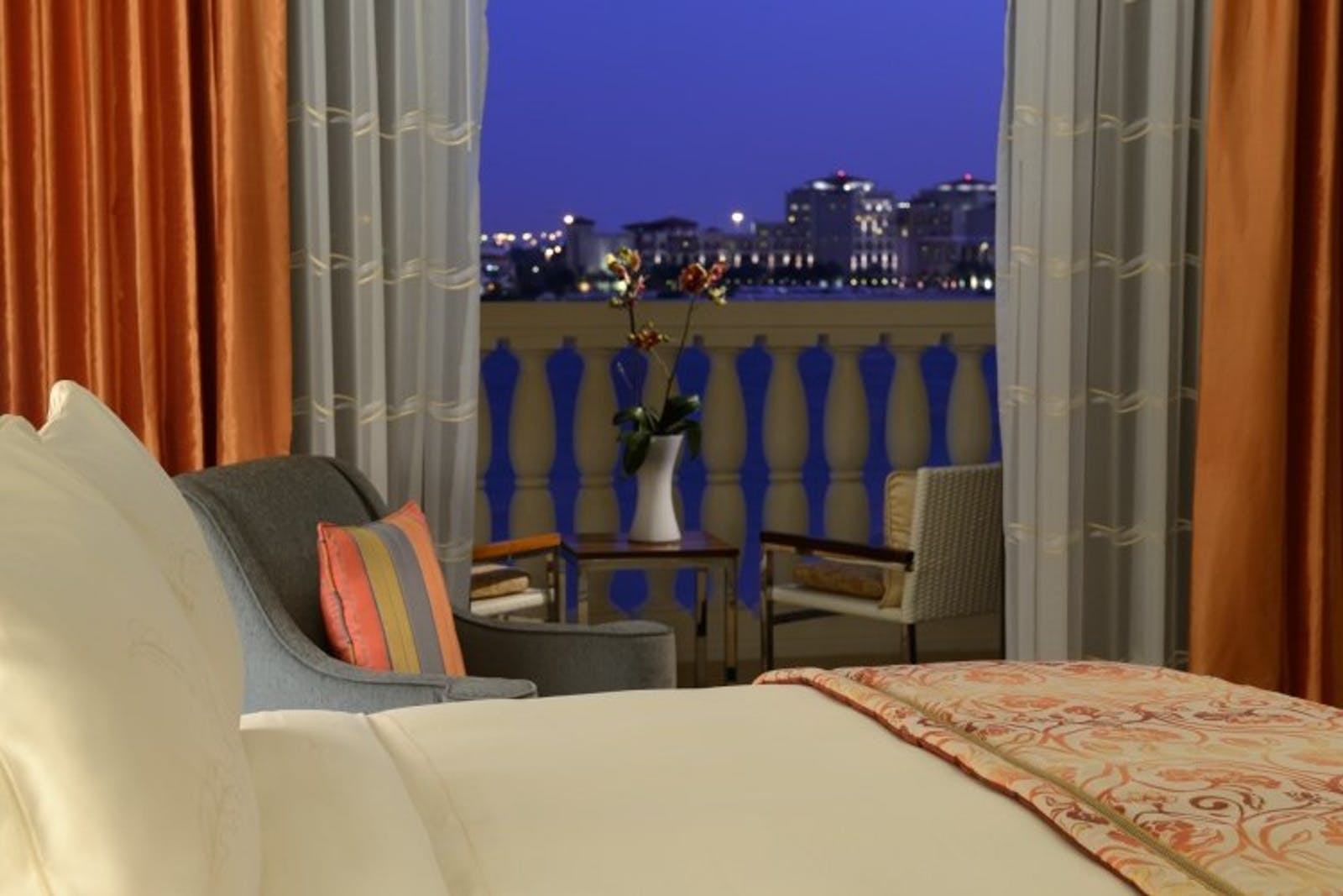 Deluxe Guest Room Canal View at Ritz Carlton, Abu Dhabi, Grand Canal