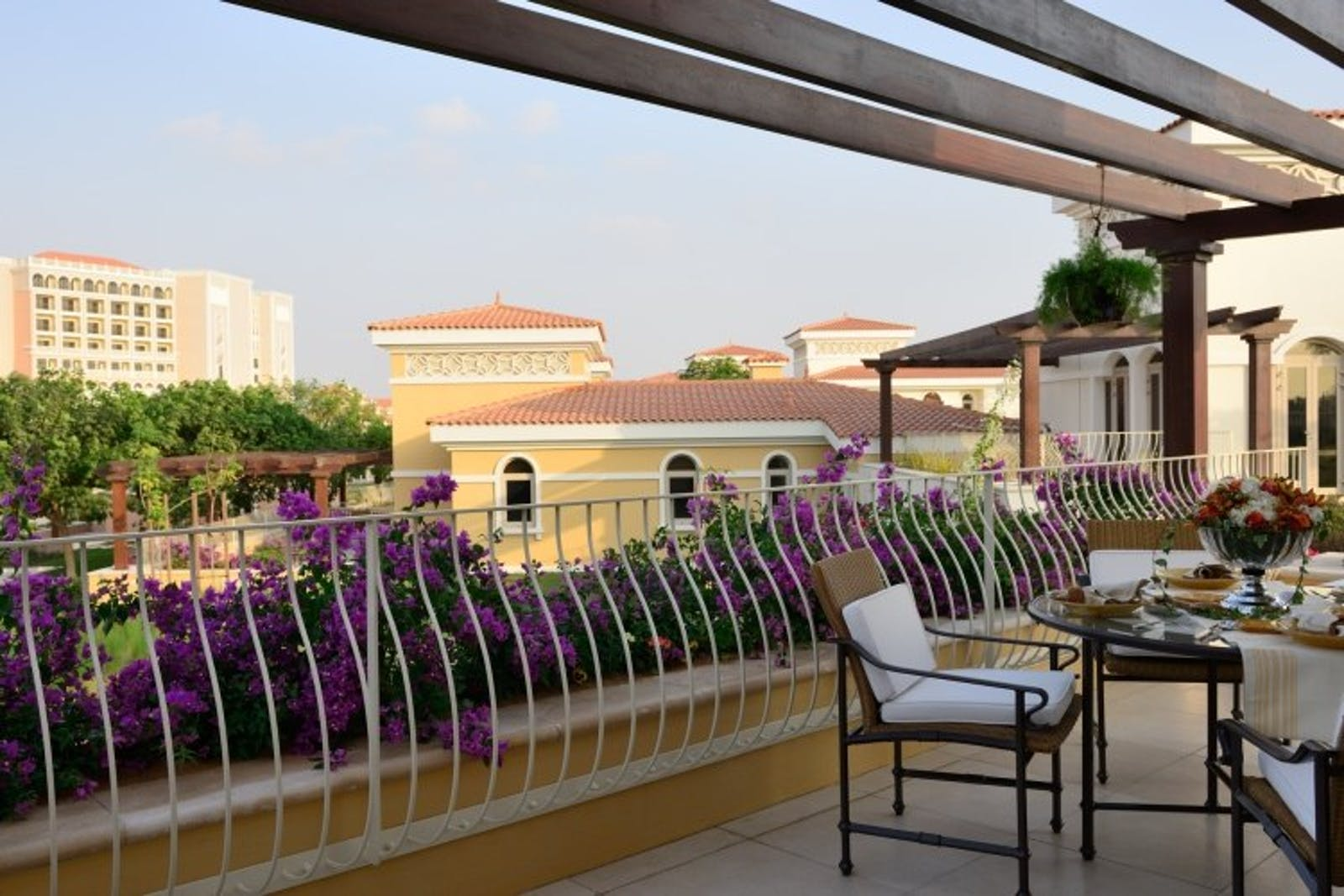 Villa Terrace at Ritz Carlton Abu Dhabi, Grand Canal