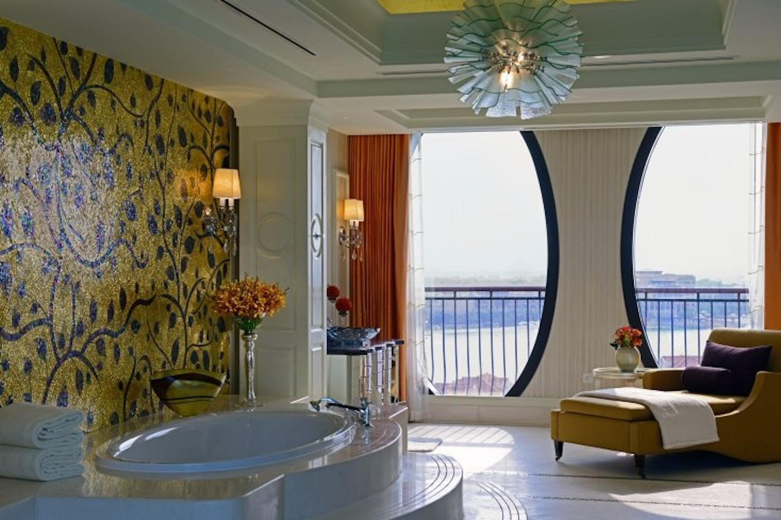 Royal Suite Canal View at Ritz Carlton Abu Dhabi, Grand Canal