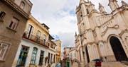 Typical Havana Street Scene