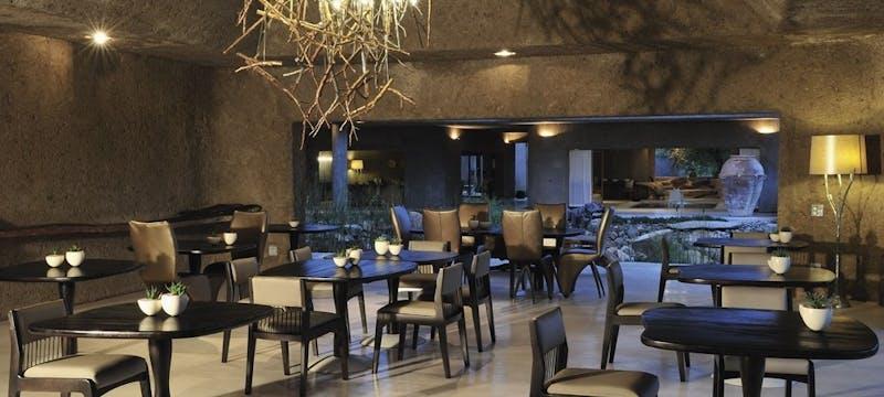 Restaurant at Sabi Sabi Earth Lodge, South Africa