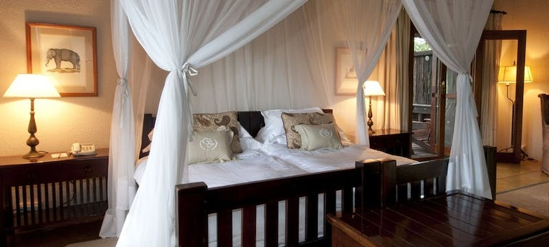 Standard bedroom at Sabi Sabi Selati Camp, South Africa