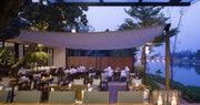 The River Restaurant Exterior
