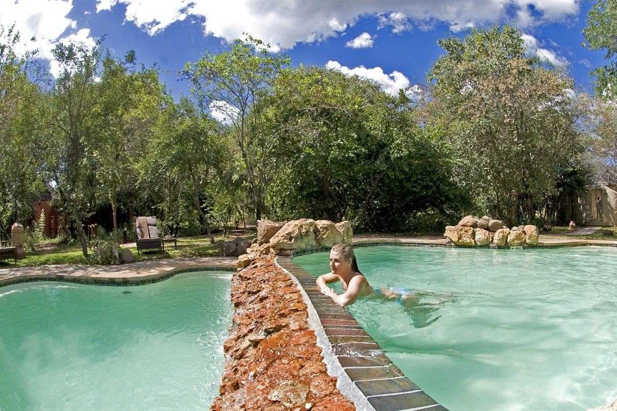 Swimming Pool at Sanctuary Chobe Chilwero