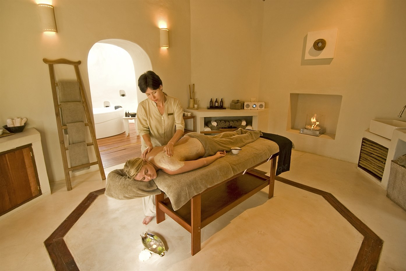 Spa at Sanctuary Chobe Chilwero