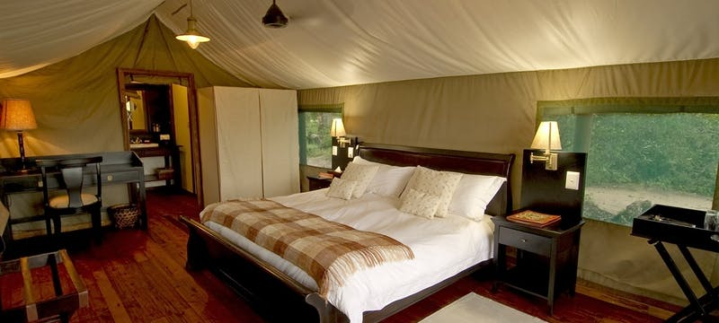 Luxury Tent at Sanctuary Stanley's Camp