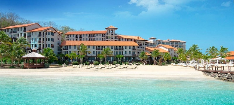 Sandals LaSource And Pink Gin Beach