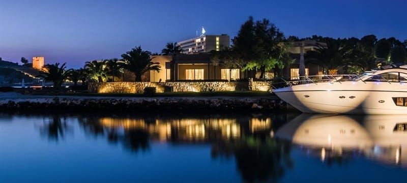 Marina View At Night