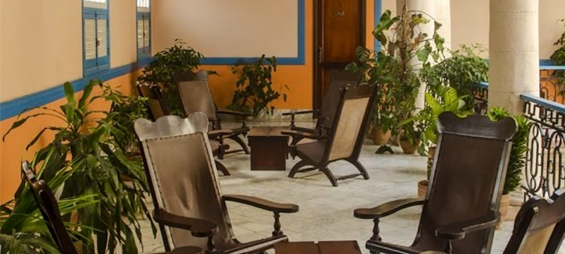 Plantation Chairs on The Landing