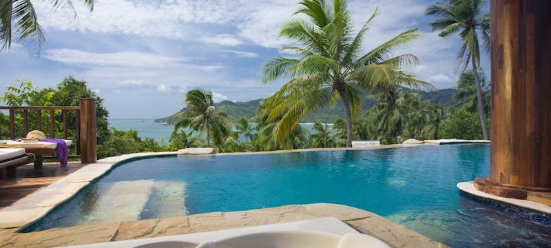 Sea View Pool Villa Suite - View at Santhiya Koh Phangan Resort & Spa